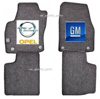 Original Genuine GM Opel Astra H 4 x Floor Mat Mats Carpet Carpets Full Set LHD