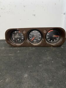 PORSCHE 924 INSTRUMENT CLUSTER CLOCKS SPEEDO TACHO VDO GAUGES