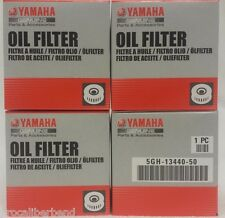 YAMAHA 4 PACK OIL FILTER 5GH-13440-50-00 MOTORCYCLE ATV SXS PWC OUTBOARD SMB NEW