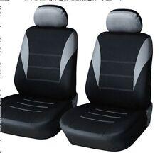 2x Housses, Housses de siège Housse NEUF gris pour Peugeot Renault Seat Skoda