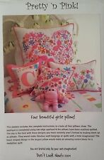 Pretty 'n Pink Pillow Pattern by Don't Look Now -FREE US SHIPPING!