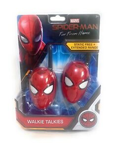 Marvel Spider-Man Far From Home Walkie Talkies - Static Free Extended Range