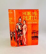 Hear Me, Pilate!-Legette Blythe-TRUE First Edition/1st Printing!!-1961-VERY RARE