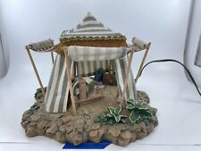 """Fontanini Kings' Blue Tent #50153 for 5"""" figures with original box (1996)."""