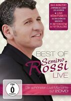 SEMINO ROSSI - BEST OF-LIVE 2 DVD NEU