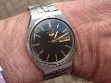 VINTAGE MEN'S SEIKO (5) AUTOMATIC DAY-DATE WATCH 7009-3150  NO RESERVE!!