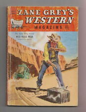 Zane Grey's Western Mag May 1950 Pulp John E Kelly William J Glynn Walker A Tomp