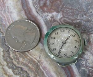 Antique wire lug watch as-is for parts, repair