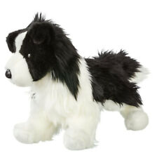 Douglas Cuddle Toy Chase Border Collie Plush Dog Black White Stuffed Animal 16in