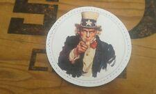 "SNAKE PATCH - PVC 2D "" ONCLE SAM "" uncle sam US ww2 USA YOU patriotic"