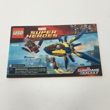 Lego 76019 Marvel Super Heroes Guardians of the Galaxy Instruction Manual ONLY