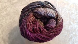 Noro Silk Garden #475 Kingfisher Purple Navy Plum Lilac Grey Mix 50g