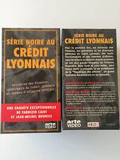 Coffret  4  Vhs   SERIE NOIRE AU CREDIT LYONNAIS