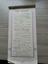 More details for music hall theatre programme 1932,bolton grand, film star charlie chaplin ,