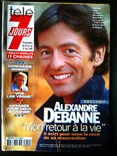 Télé 7 Jours 26/10/1996 Debanne/ Uderzo / Johnny / Le Luron/ Sampras