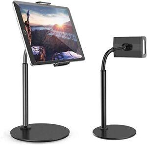 Tablet Halterung Halter Universal Tisch Ständer für iPad iPhone Handy Verstellba