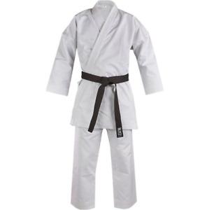 Blitz Kids Deluxe White Diamond Karate Suit - 14oz Heavyweight Gi Uniform