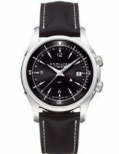 Hamilton Jazzmaster Traveler 42 mm GMT 2 Zones Men Automatic Watch H32615835.