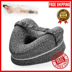 Memory LEG PILLOW Foam Orthopaedic Contour Hip Knee Support Cushion Sleeping