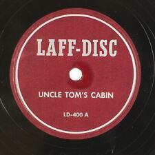 Laff-Disc: Uncle Tom's Cabin / What A Kitty Us Risque Novelty Stag 78