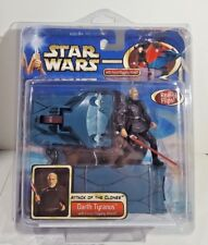 Hasbro Star Wars Darth Tyranus with Force-Flipping Attack New in Case