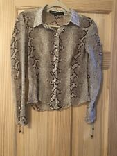 Allen B Blouse Womens Size Medium