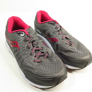 Saucony Everun Support Frame Women's Gray/ Pink Running Shoes  Sz 8 W