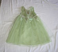 The Disney Store SIZE 8 Tinkerbell Sleeveless Gown Costume Halloween C25 W24 OL2