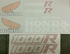 HONDA VF1000R  1985 MODEL  FULL PAINTWORK DECAL KIT