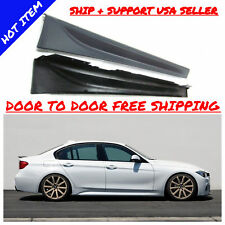 12-16 F30 M SPORT MTECH SIDE SKIRTS SET PAIR FOR ALL BMW 3 SERIES 328 335 320