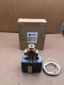 "Trane ZB7841ES+8020ZB 1/2"" Bronze Electric Floating Valve Actuator 1.8Cv -NIB"