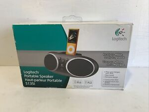 Logitech S135i Portable Speaker - Black Brand New