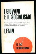LENIN L I GIOVANI E IL SOCIALISMO EDITORI RIUNITI 1970 LE IDEE 39