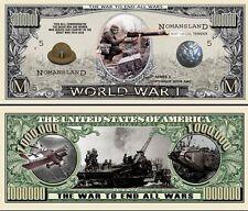 1ère GUERRE MONDIALE BILLET DOLLAR US! Collection 14 18 Armée Allemande Tranchée