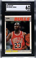 1987 - 88 Fleer Michael Jordan SGC 6