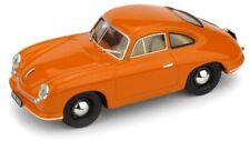PORSCHE 356 COUPE' GMUND 1948 ARANCIONE 70° ANNIVERSARIO PORSCHE  Brumm S1830