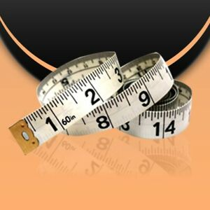 Measuring Tape Soft Flexible Flat Measure Dual Sided Centimetres and Inches