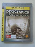 PS3 Playstation 3 -  Resistance Fall Of Man - PAL Game