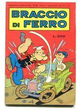 BRACCIO DI FERRO N.29 6 Febbraio 1976 Edizioni Metro Fumetto