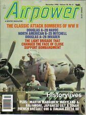 Airpower V28 N6, A-20 Havoc A-26 Invader B-25 Mitchell Japanese Lily Dinah Breda