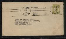 Australia 47 Kangeroo on cover to Us 1924 Mm1206-3