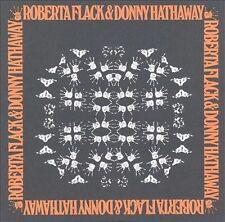 """ROBERTA FLACK & DONNY HATHAWAY"" - soul / r&b - remaster CD - Arif Mardin"