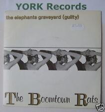 """BOOMTOWN RATS-Elephant 's Graveyard-EX avec Unique 7"""""""