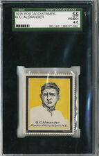 1915 Postaco Stamps Grover Cleveland Alexander SGC 55 HOF