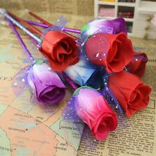 Rose Ballpoint Ink Pen 12 Pieces Rose Flower Office Supplies Gift Office Decor
