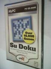 Su Doku, PC CD-Rom Games over 10,000 - sealed in original packaging.