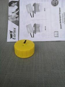 Earlex Steamer Wallpaper Stripper Replacement Screw Cap - Yellow - Spare Part