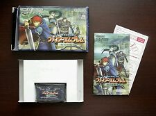 Game Boy Advance Fire Emblem The Blazing Sword boxed Japan GBA Game US Seller