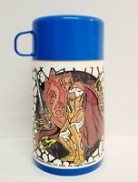 King Arthur and the Knights of Justice Aladdin Lunchbox Thermos 1993
