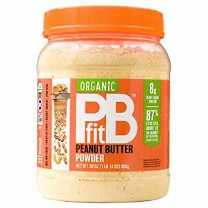 Organic PB Fit Peanut Butter Powder All Natural Gluten Free Protein 30 OZ